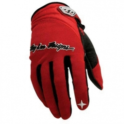 TROY LEE DESIGNS Paire de Gants XC Rouge