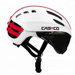 CASCO Casque SPEEDAIRO avec visière Blanc Rouge