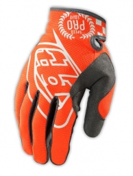 TROY LEE DESIGNS Paire de Gants longs SE PRO Orange