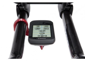 K-EDGE Support guidon de triathlon pour Garmin Edge Noir