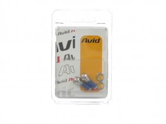 AVID Vis acier pour étrier ou adaptateur frein à disque (x2)