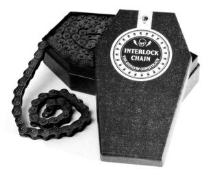SHADOW Chaine demi maillon 3/32 INTERLOCK V2 Noir