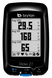 BRYTON Compteur GPS Cardio Altimètre RIDER 21H