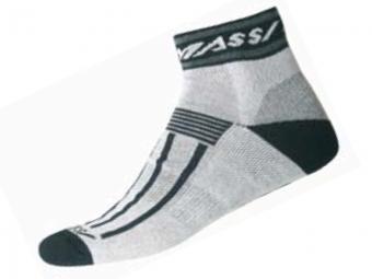 MASSI Socquettes Hiver CM-322 Gris Noir