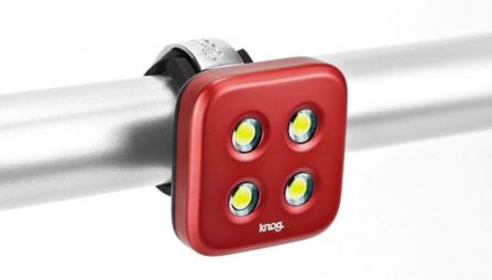 KNOG Lampe Avant BLINDER 4 Standard Rouge