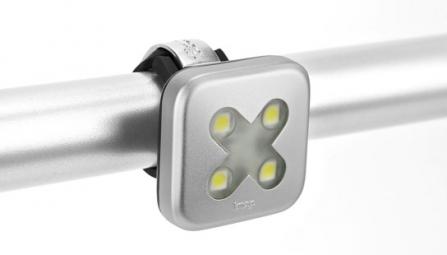 KNOG Lampe Arrière BLINDER 4 CROSS Argent