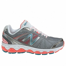 NEW BALANCE Chaussures W880 Gris Orange Femme