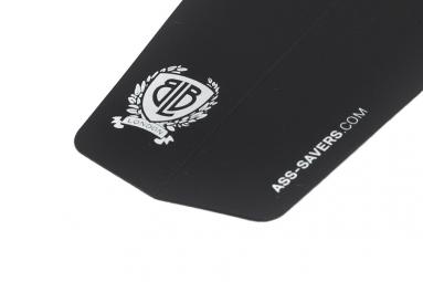 ASS SAVERS Garde Boue Pliable Logo BLB Noir