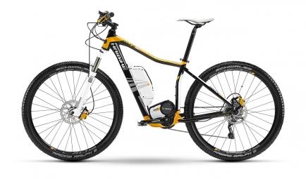 HAIBIKE 2014 Vélo Complet Electrique Xduro SL 29'' Noir Orange