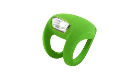 KNOG Lampe Avant FROG STROBE - Vert