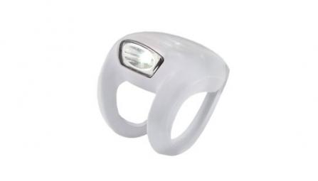 KNOG Lampe Avant FROG STROBE - Translucide