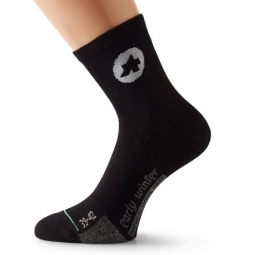 ASSOS Paire de chaussettes EarlyWinterSocks_s7 Noir