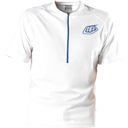 TROY LEE DESIGNS Maillot Manches courtes ACE Blanc