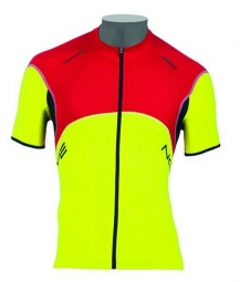 NORTHWAVE Maillot Manches Courtes BLADE Jaune Rouge