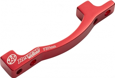 REVERSE Adaptateur Frein PM - PM 203mm Rouge