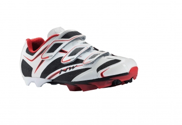 Chaussures VTT Northwave Scorpius 3S Blanc/Rouge/Noir