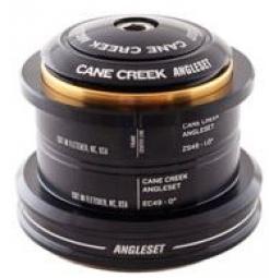 CANE CREEK Jeu de Direction Angleset Semi Intégré/Externe 49mm Conique Noir
