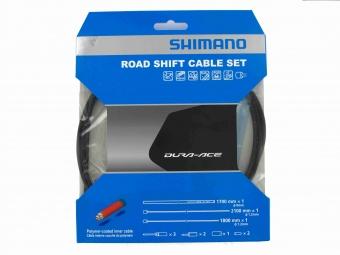 SHIMANO Kit Câbles et Gaines Dérailleur Dura-Ace 9000 Noir