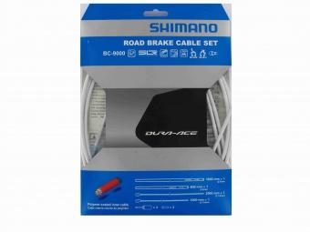 SHIMANO Kit Câbles et Gaines Frein Dura-Ace 9000 Blanc