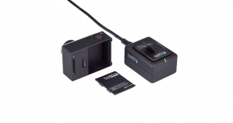 GOPRO Chargeur Batterie Double pour Hero 4