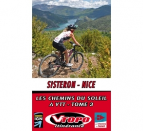 VTOPO VTT Itinérance Sisteron Nice
