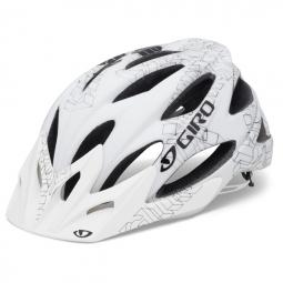 Casque Giro XAR Blanc/Gris mat