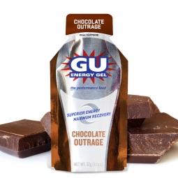 GU Gel énergétique Goût Chocolat Intense