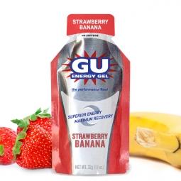 GU Gel énergétique Goût Fraise Banane