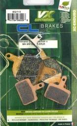 CL BRAKES Paire de plaquettes VX pour Shimano BR M515 - M525