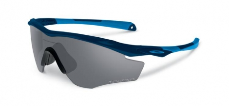 OAKLEY Lunettes M2 Frame Polished Navy / Grey Polarized OO9212-07