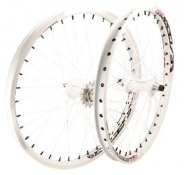 EXCESS 351 Paire de roues Lite 20´´x1.75´´ cassette Blanc