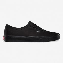 VANS Paire de Chaussures AUTHENTIC Noir