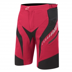 ALPINESTARS Short DROP Rouge Noir