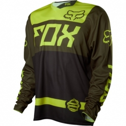 FOX 2014 Maillot manches Longues DEMO Vert