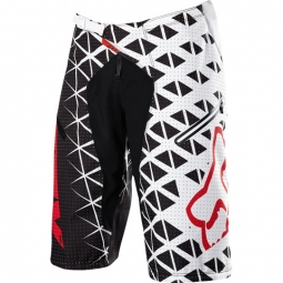 FOX Short DEMO DH Noir Blanc