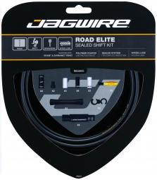 JAGWIRE Kit Complet Câbles Gaines ROAD ELITE SEALED Dérailleurs Noir