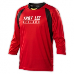 TROY LEE DESIGNS Manches 3/4 RUCKUS SPEK Rouge