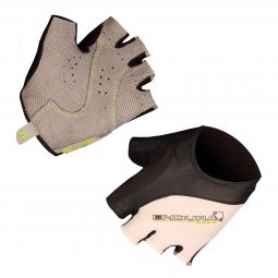 ENDURA Paire de gants courts TRACK MITT Blanc