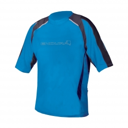 ENDURA Maillot Manches courtes MT500 Burner II Bleu