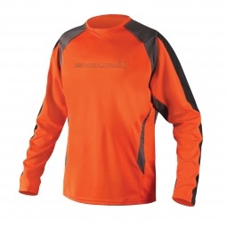 ENDURA Maillot Manches longues MT500 Burner II Orange