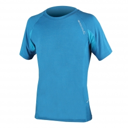 ENDURA Maillot Manches Courtes SINGLETRACK LITE WICKING Bleu