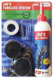 No Flats Joe's Kit de Transformation Tubeless All-Mountain Schrader 19-25 mm / 240ml