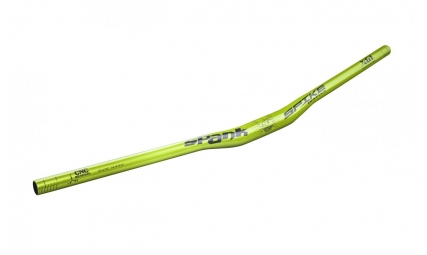SPANK Cintre SPIKE Race EVO Relevé 15mm 31.8x800mm Vert Emerald
