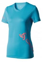 ODLO T-Shirt Running EVENT II Bleu Atoll