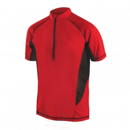 ENDURA Maillot manches courtes CAIRN Rouge