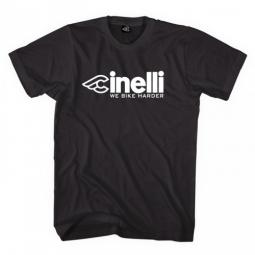 CINELLI Tee Shirt HARDER Noir