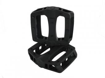 BLB Paire de Pédales en plastique T-REX Noir