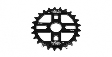 TOTAL BMX Plateau ROCK N ROLL Noir