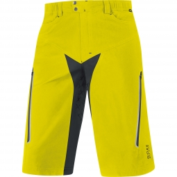 GORE BIKE WEAR2014 Short+ ALP-X Jaune