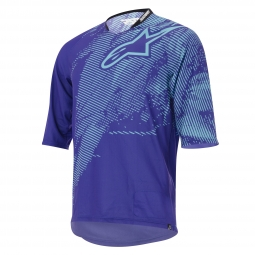 ALPINESTARS Maillot Manches 3/4 MANUAL Bleu